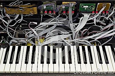 Advanced synthesizer opened