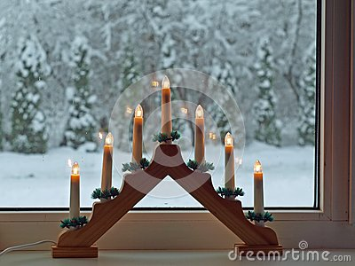 Advent candlestick 2