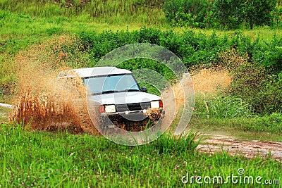 Adventure car drive