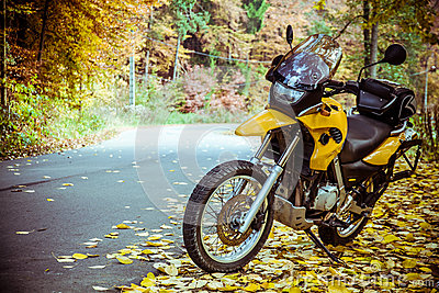 Adventure motorbike