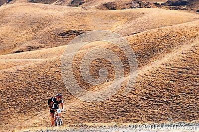Adventure mountain bike marathon Editorial Photo