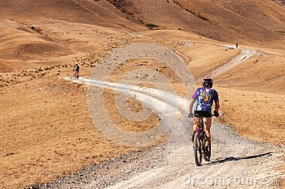 Adventure mountain bike marathon Editorial Photography