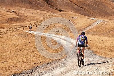 Adventure mountain bike marathon Editorial Photography