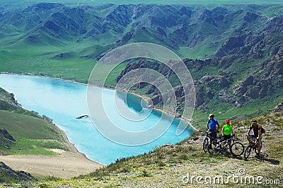 Adventure mountain biking