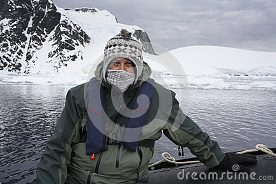 Adventure tourist - Antarctica