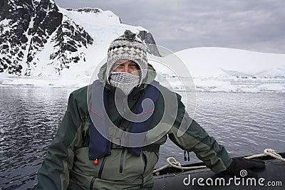 Adventure tourist - Antarctica