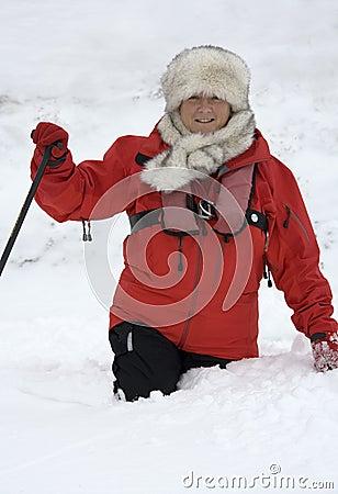 Adventure Tourist in Greenland