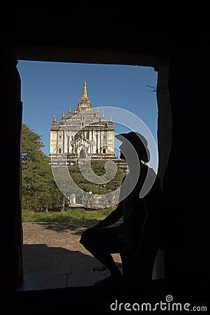 Adventurer in Bagan