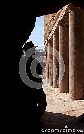 Adventurer in Petra