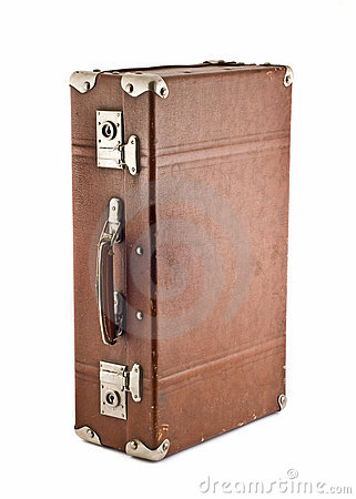 Adventures and travel - old-fashioned trunk
