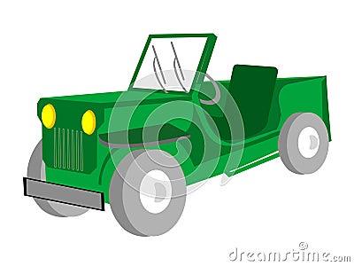 Adventurous jeep