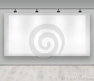 Advertise here - blank advertising banner