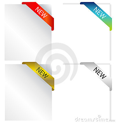 Advertise on paper-vector