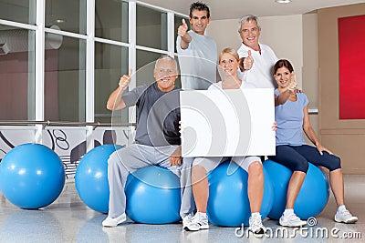 Advertising for back training