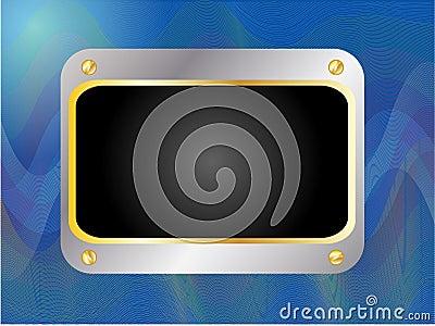 Advertising frame