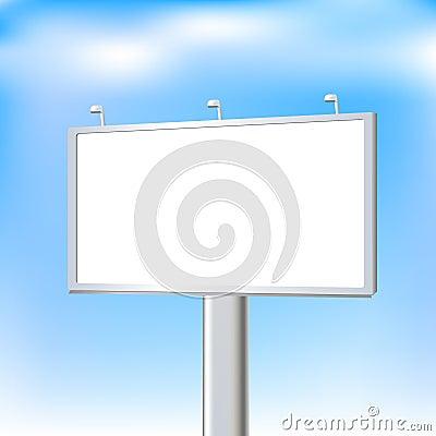 Advertising Outdoor. Vector