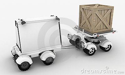 Advertising and Shipping Vehicles