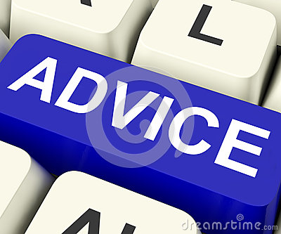 Advice Key Means Recommend Or Suggest