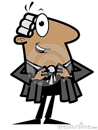 Advogado dos desenhos animados