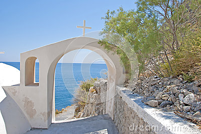 Aegean through Archway