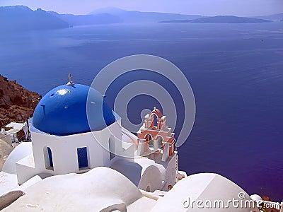 Aegean cyclades island