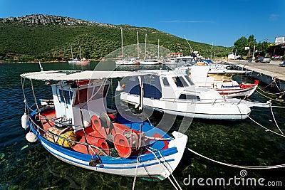 Aegean harbour