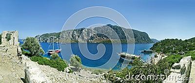 Aegean island