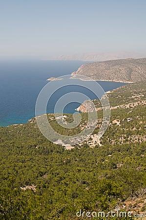 Aegean sea coast