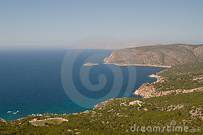 Aegean sea coast