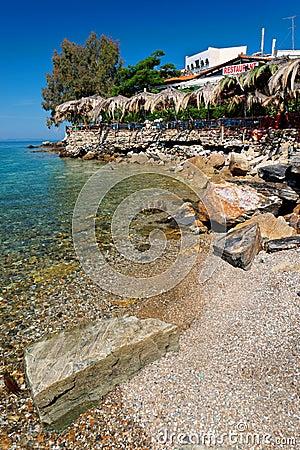 Aegean terrace