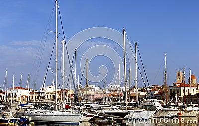 Aegina harbour