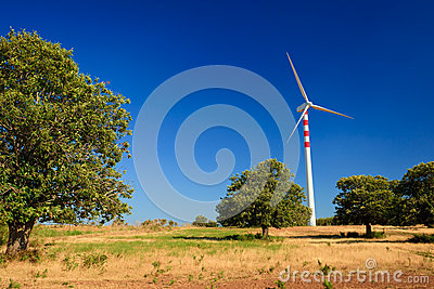Aeolian energy in Calabria