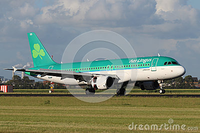 Aer Lingus Airbus A320 Editorial Photo