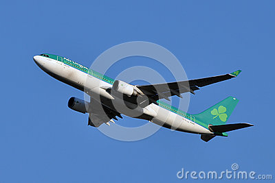 Aer Lingus Airbus A330 Taking Off Editorial Photography