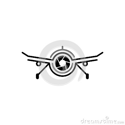 Free Aerial Drone Cam Photography Logo Design Template. Drone Camera Photography Technology Logo Vector Icon. Royalty Free Stock Photo - 118052205