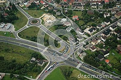 Aerial junction
