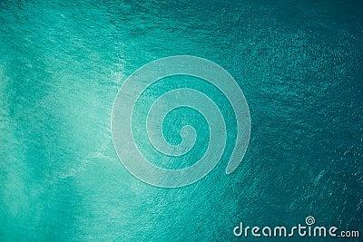 Aerial ocean view Stock Photo