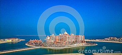 Aerial Photography Orange And White Concrete Building Near Water During Daytime Free Public Domain Cc0 Image