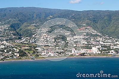 Aerial Reunion island