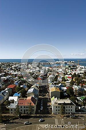 Aerial Reykjavik