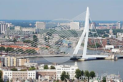 Aerial Rotterdam Editorial Image
