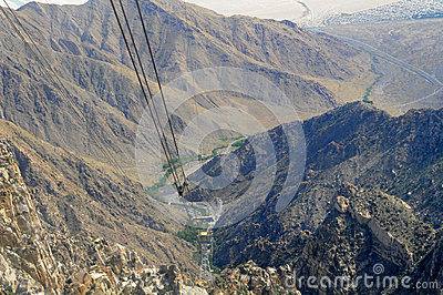 Aerial Tramway Way View
