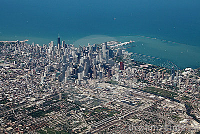 Aerial View Of Chicago Royalty Free Stock Image - Image ... | 400 x 267 jpeg 56kB