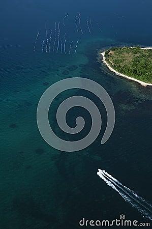 Aerial view - Croatia - Istria - Vrsar