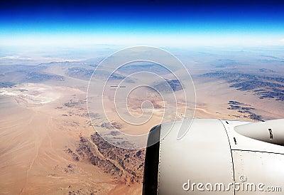 Aerial View (Desert/Plane)