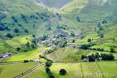 Aerial View of Hartsop Village