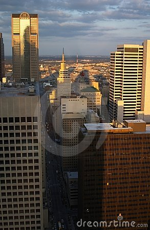 Free Aerial View Of Dallas Stock Photo - 977790