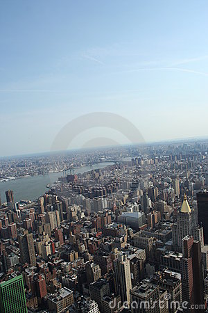 Free Aerial View Of Manhattan Stock Images - 4794984