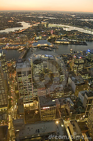 Free Aerial View Of Sydney Royalty Free Stock Image - 12322116