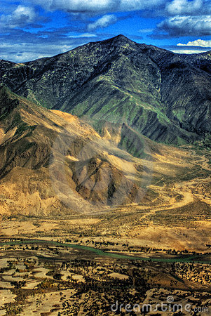 Free Aerial View Of Tibet Stock Photo - 4361760